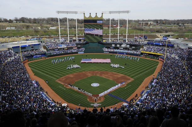 Kansas City Royals vs. Pittsburgh Pirates at Kauffman Stadium