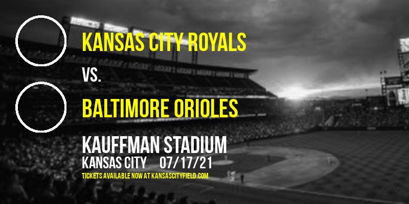 Kansas City Royals vs. Baltimore Orioles at Kauffman Stadium